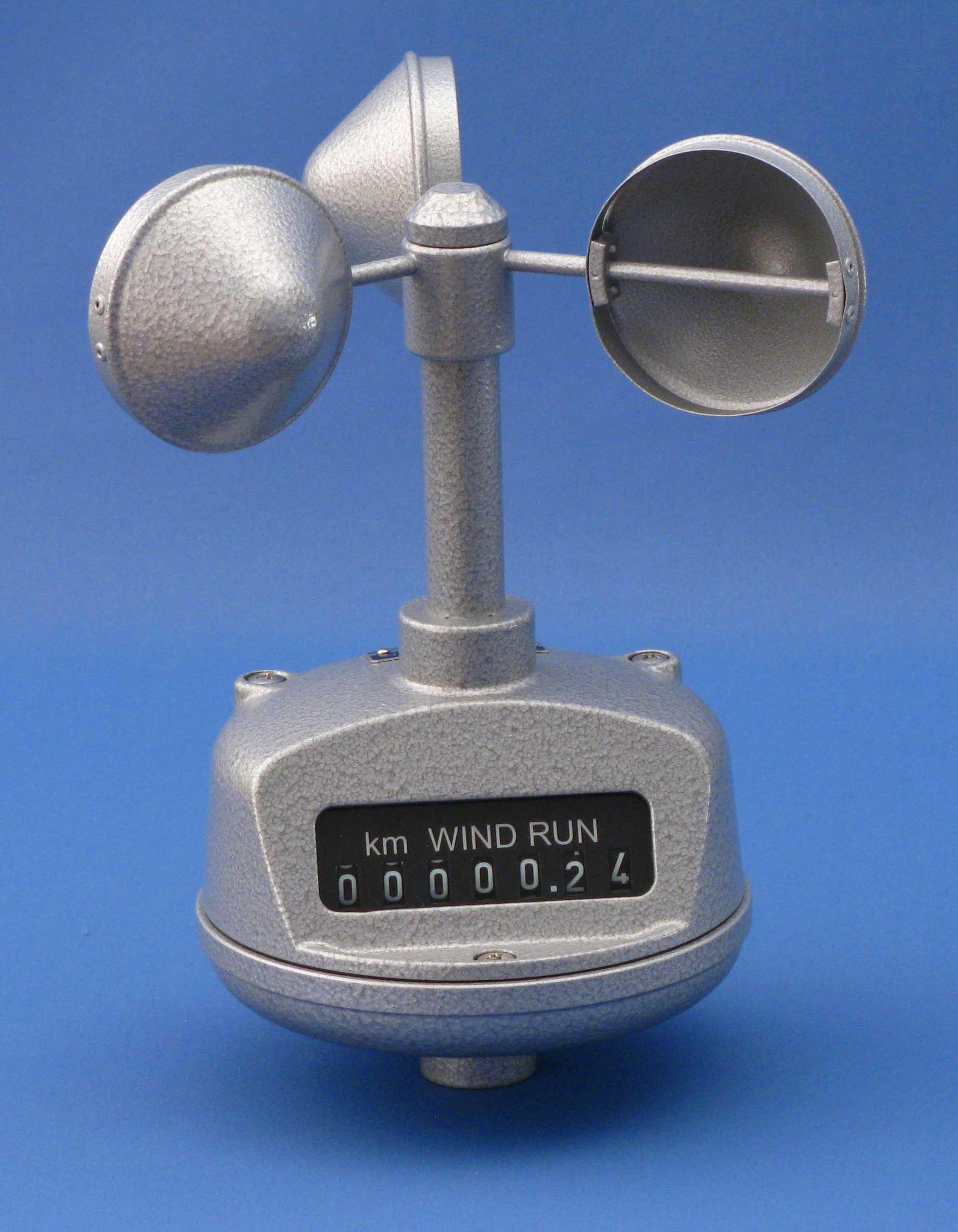 Counter Anemometer