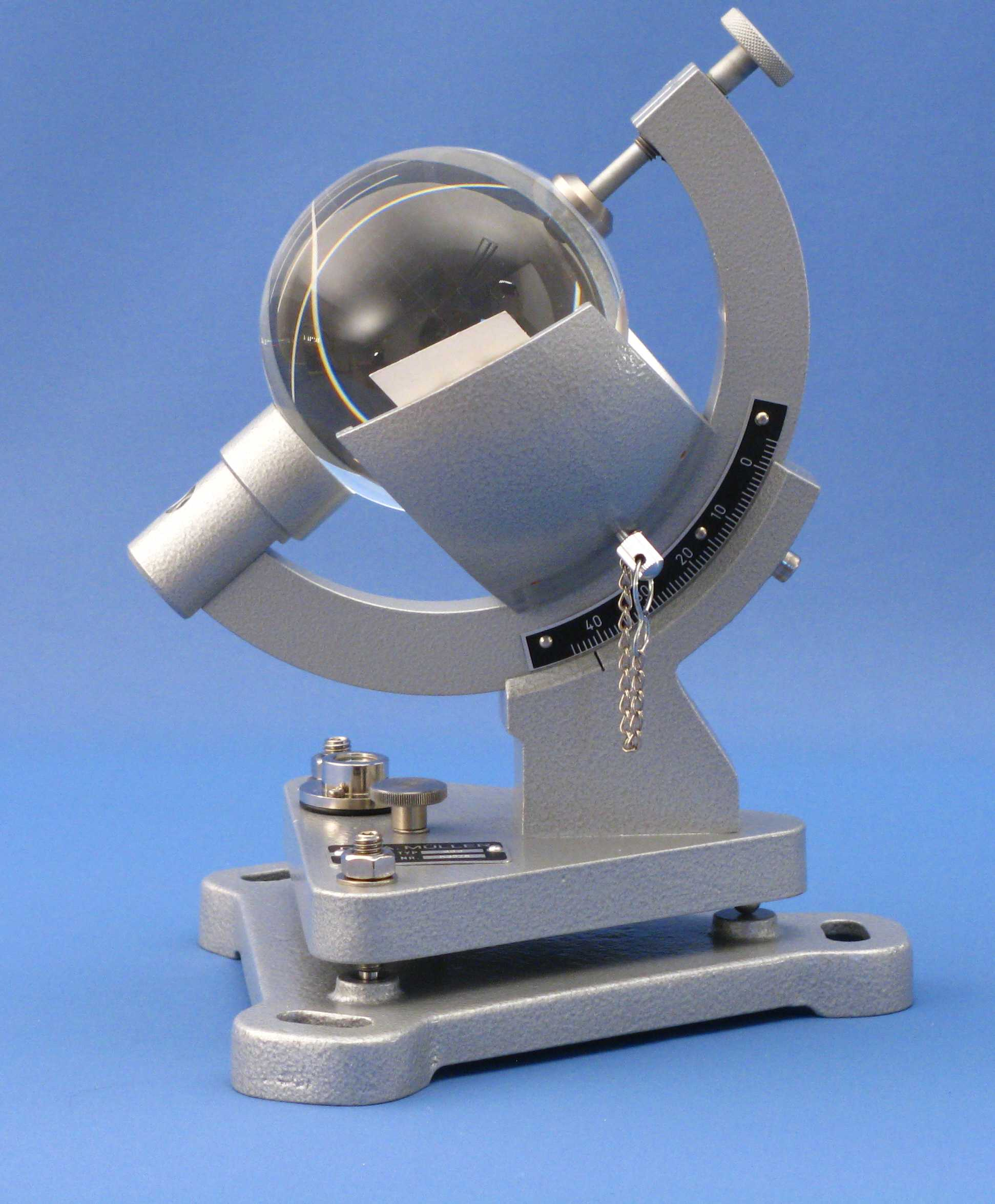 96C -- Sunshine Recorder - Campbell-Stokes Type